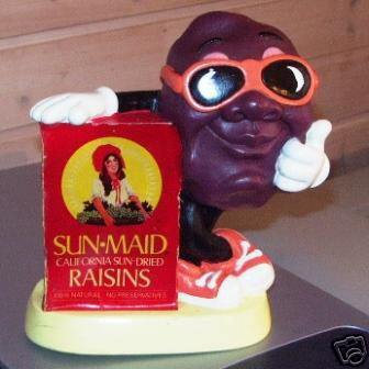 yep we just add giant sunglasses - California Raisin Halloween Costume